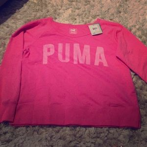 Puma Long Sleeve Crew shirt